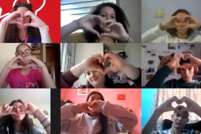 online students heart gallery